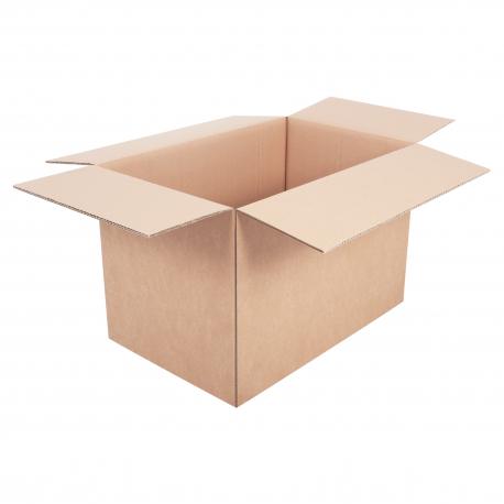 Grand carton double épaisseur renforcé