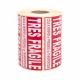 Etiquettes TRES FRAGILE - CartonDemenagement.com