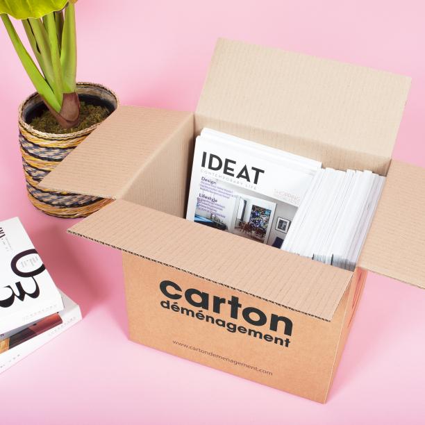 Carton de déménagement pour livres - CartonDemenagement.com