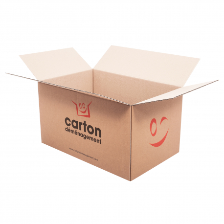 Grand carton de déménagement - CartonDemenagement.com