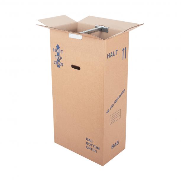 Carton penderie petit modèle - CartonDemenagement.com