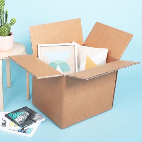 Grand carton triple épaisseur super renforcé export - CartonDemenagement.com
