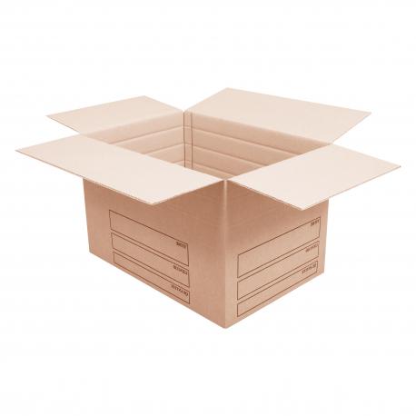 Grand Carton renforcé avec marquage - CartonDemenagement.com