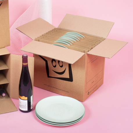Cartons pour assiettes - CartonDemenagement.com