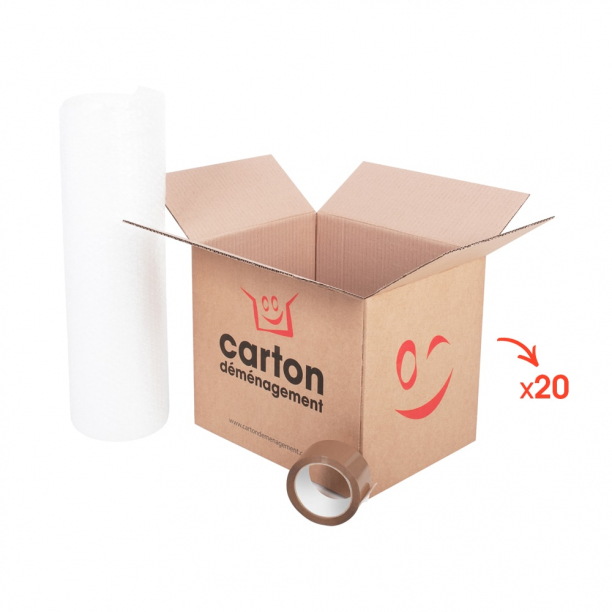 Kit studio 12m² - CartonDemenagement.com