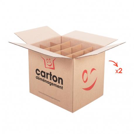 Cartons pour bouteilles