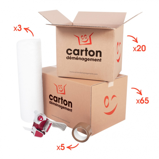 Kit déménagement T5 - T6 - CartonDemenagement.com