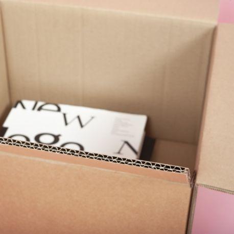 Grand carton double épaisseur renforcé - CartonDemenagement.com
