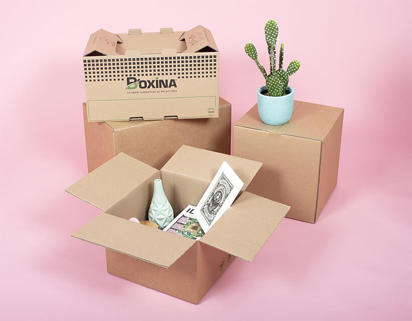 Cartons déménagement renforcés