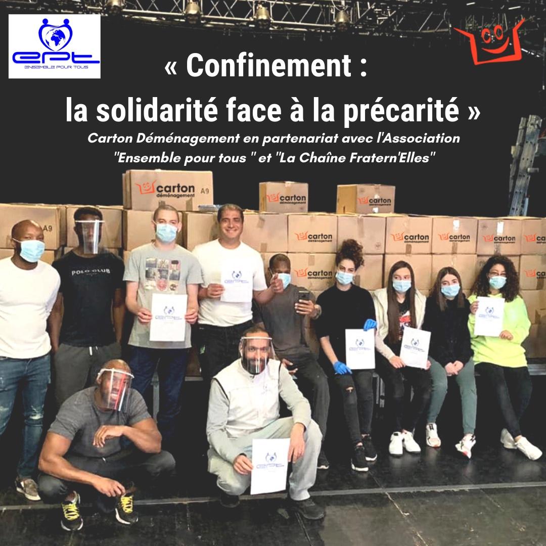 Confinement : la solidarité face à la précarité